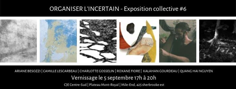 Organiser l'incertain - Exposition collective #6