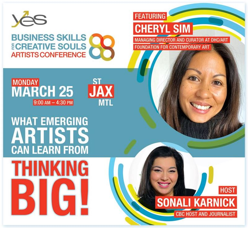 18e Conférence pour artistes de YES - Business Skills for Creative Souls